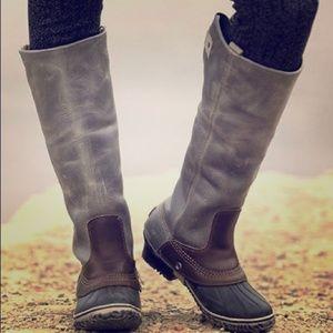 SOREL Slimpack Shale Tall Riding Boot